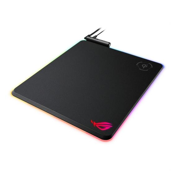 Asus ROG Balteus Qi Wireless RGB Hard Gaming Mouse Pad Image