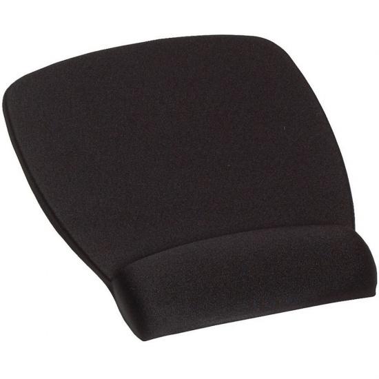 3M Foam Mouse Pad w/Wrist Rest - Black Image