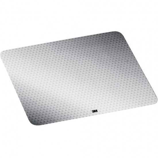 3M Precise Battery Saving Mouse Pad w/Adhesive Backing - Grey Image