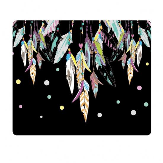 Centon OTM Prints Mouse Pad - Feathers Image