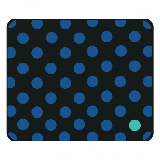 Centon OTM Prints Mouse Pad - Blue Dots Image