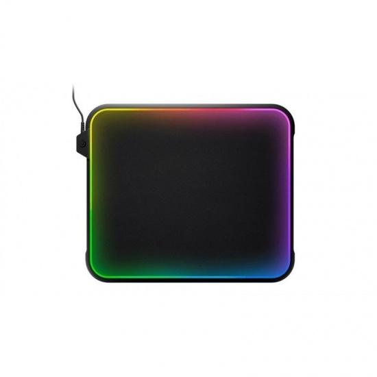 Steel Series QcK Prism Dual-Textured RGB Gaming Mouse Pad Image