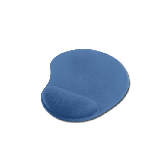 Ednet Gel Mouse Pad w/Wrist Rest - Blue Image