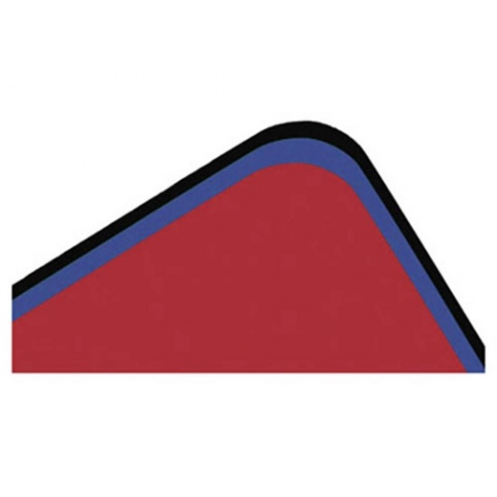 Ednet Colorline Mouse Pad Set of 20 - Blue, Black, and Red Image