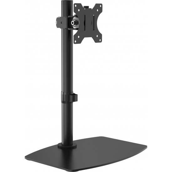Vision Flat-Panel Desk Stand - Up to 32-inch - Black Image