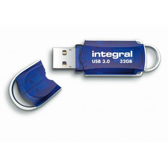 32GB Integral Courier USB3.0 Flash Drive (140MB/sec) Image