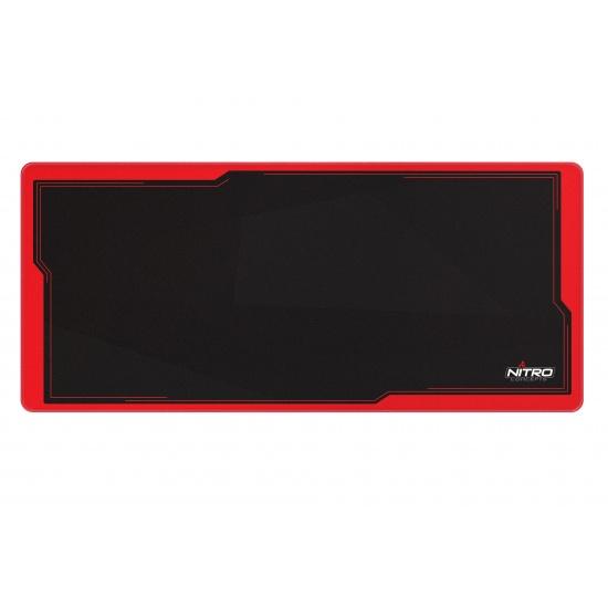 Nitro Concepts DM9 Mouse Pad - Black, Red Image