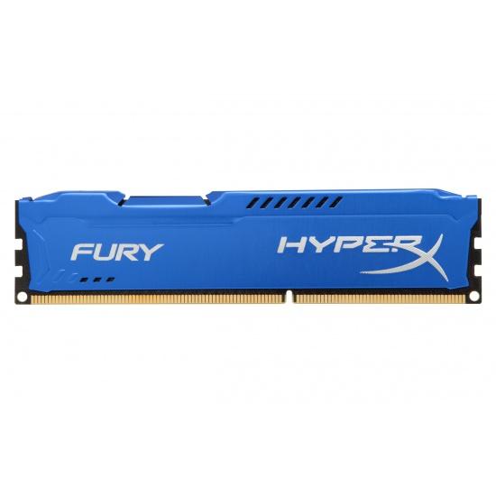 8GB Kingston HyperX Fury DDR3 1866MHz CL10 Memory Module Upgrade - Blue Image