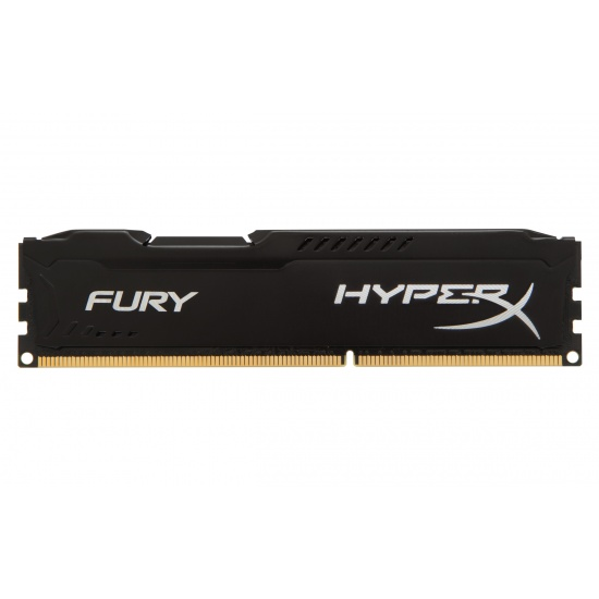8GB Kingston HyperX Fury DDR3 1333MHz CL9 Memory Module Upgrade - Black Image