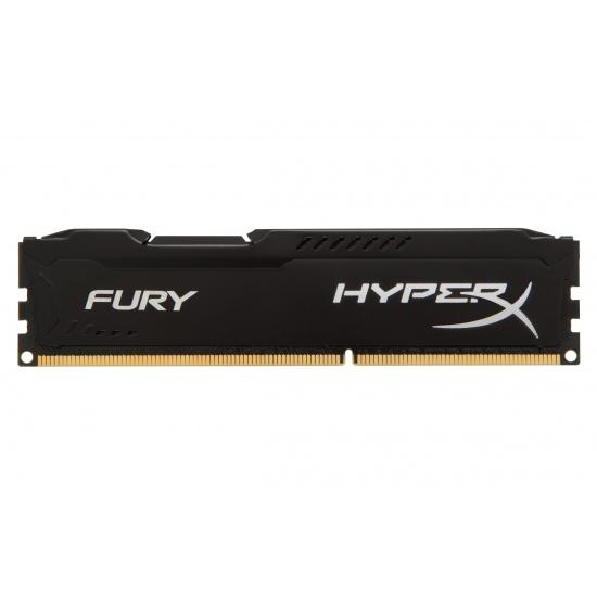 4GB Kingston HyperX Fury DDR3 1333MHz CL9 Memory Module Upgrade - Black Image