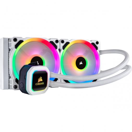 Corsair H100i Hydro Series RGB Platinum 120mm Liquid CPU Cooler Image