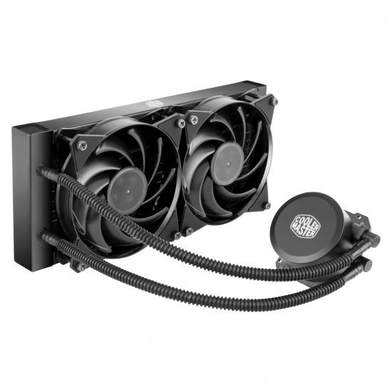 Cooler Master MasterLiquid 120mm Lite 240 Liquid CPU Cooler Image