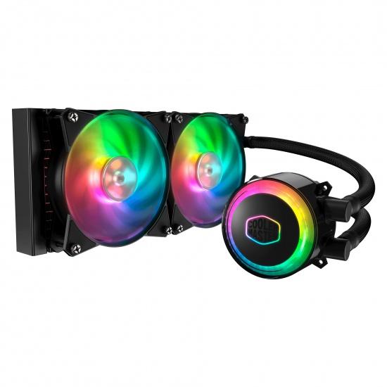 Cooler Master MasterLiquid ML240R RGB 120mm Liquid CPU Cooler w/Controller Image