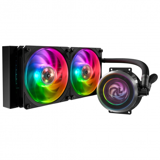 Cooler Master MasterLiquid ML240P Mirage RGB 120mm Liquid CPU Cooler Image