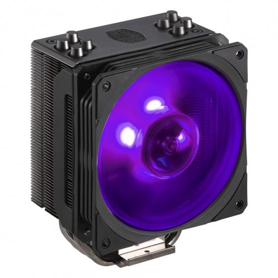 Cooler Master Hyper 212 Black Edition RGB 120mm CPU Cooler Image