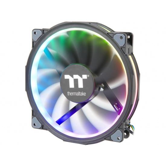 Thermaltake Riing Plus 20 RGB 200mm Computer Case Fan w/Controller Image