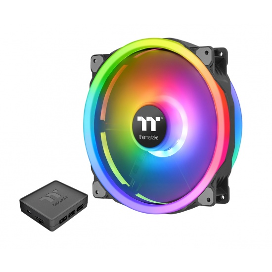 Thermaltake Riing Trio 20 RGB 200mm Computer Case Fan Image