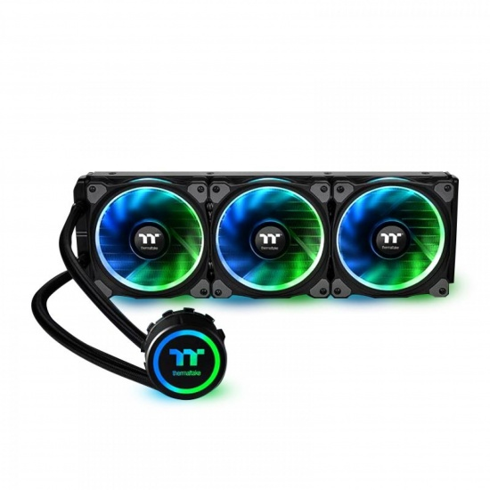 Thermaltake Floe Riing 360 120mm RGB Premium Edition Triple Fan Liquid CPU Cooler Image