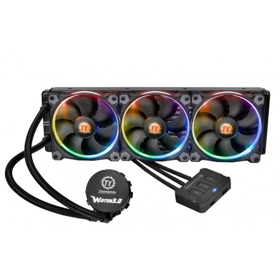 Thermaltake Water 3.0 Riing 360 RGB 120mm Triple Fan Liquid CPU Cooler Image