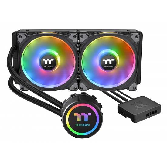 Thermaltake Floe DX RGB 280 140mm Premium Edition Dual Fan Liquid CPU Cooler Image