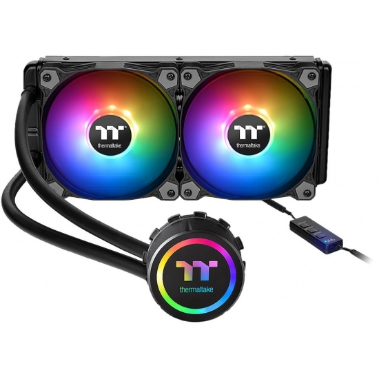 Thermaltake Water 3.0 Sync 240 ARGB 120mm Dual Fan Liquid CPU Cooler Image