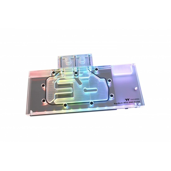 Thermaltake Pacific V-RTX 2080 Plus RGB Full Cover Water Block - Series Founders Edition Image