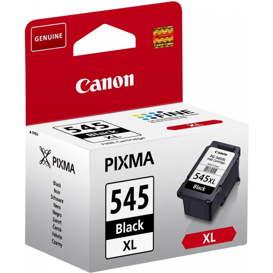 Canon PG-545XL High Yield Fine Ink Cartridge - Black Image