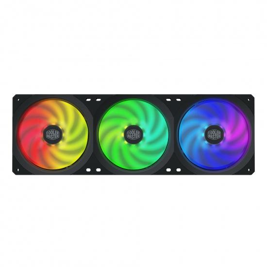 Cooler Master MasterFan SF360R ARGB 360mm Triple Computer Case Fan Image