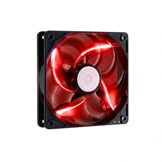 Cooler Master Sickleflow 120 LED 120mm Computer Case Fan - Red Image