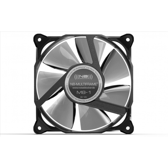 Noiseblocker Multi-frame S-Series M8-1 80mm Computer Case Fan Image