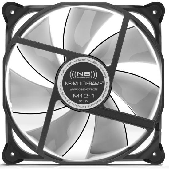 Noiseblocker Multi-frame S-Series M12-P 120mm Computer Case Fan Image