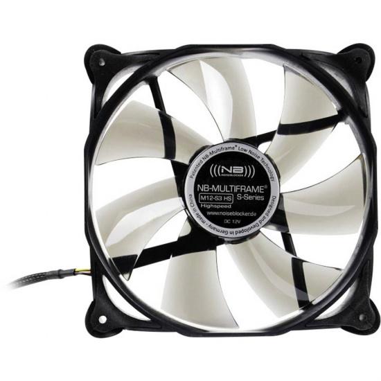 Noiseblocker Multi-frame S-Series M12-3 120mm Computer Case Fan Image