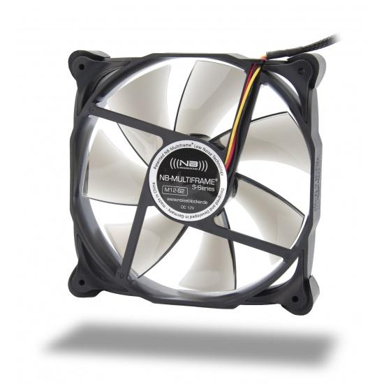 Noiseblocker Multi-frame S-Series M12-2 120mm Computer Case Fan Image