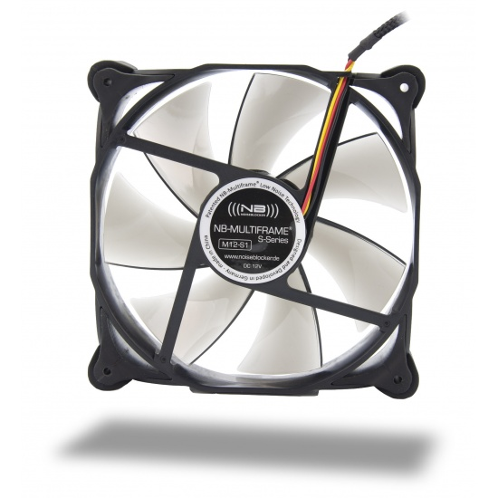Noiseblocker Multi-frame S-Series M12-1 120mm Computer Case Fan Image