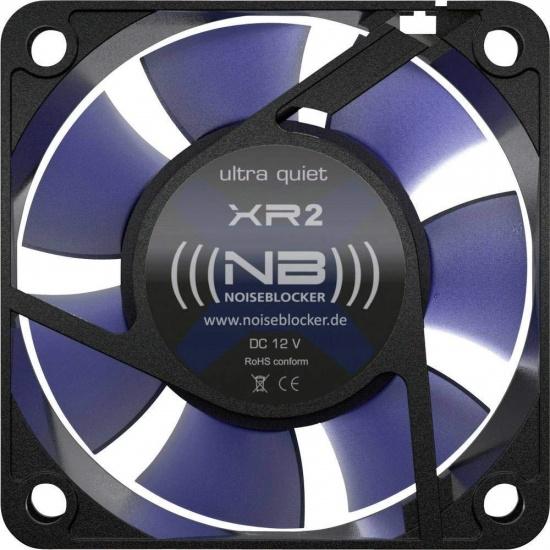 Noiseblocker Black Silent XR-2 60mm Computer Case Fan Image