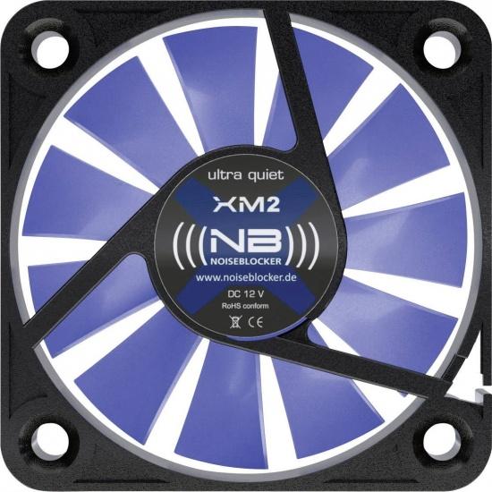 Noiseblocker Black Silent XM-2 40mm Computer Case Fan Image