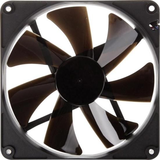 Noiseblocker Black Silent Pro PK-PS 140mm Computer Case Fan Image