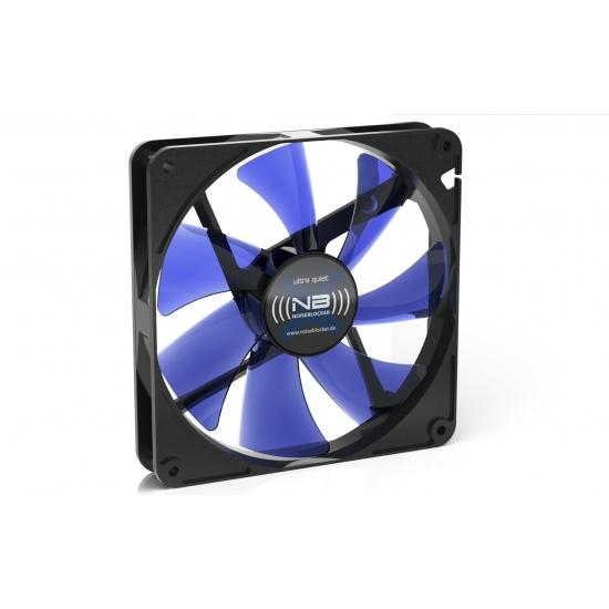 Noiseblocker Black Silent XK-1 140mm Computer Case Fan - Blue Image