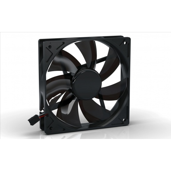 Noiseblocker Black Silent Pro PL-2 120mm Computer Case Fan Image