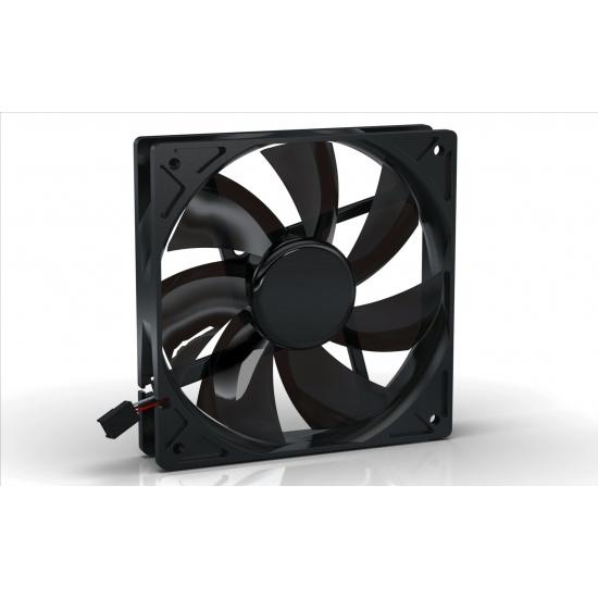 Noiseblocker Black Silent Pro PL-PS 120mm Computer Case Fan Image