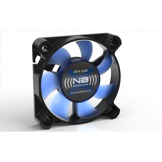 Noiseblocker Black Silent XS-1 50mm Computer Case Fan - Blue Image