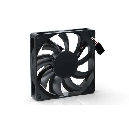 Noiseblocker Black Silent Pro PC-P 80mm Computer Case Fan Image