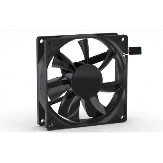 Noiseblocker Black Silent Pro PE-P 92mm Computer Case Fan Image