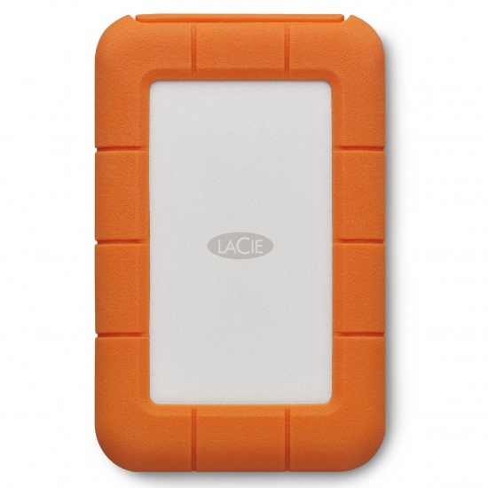 5TB LaCie Rugged Thunderbolt USB-C Portable Hard Drive Image