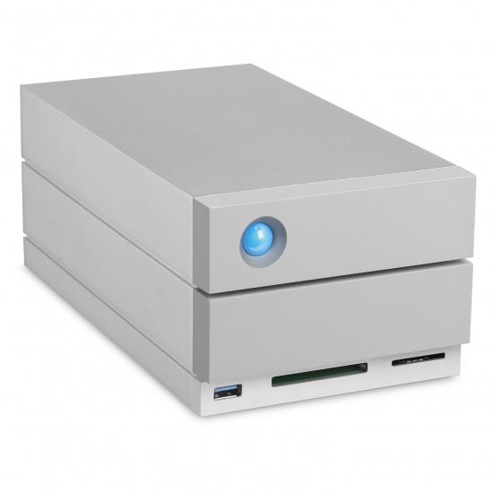 32TB LaCie 2big Dock Thunderbolt 3 USB-C External Hard Drive Image
