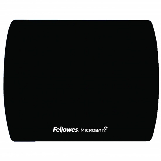 Fellowes Microban Ultra Thin Mouse Pad - Black Image