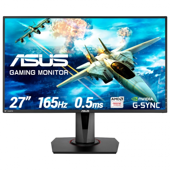 ASUS VG278QR 1920 x 1080 pixels Full HD LED Gaming Monitor - 27 in Image