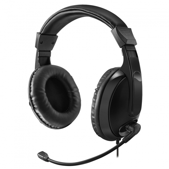 Adesso Xtream H5 Wired Multimedia Headphones w/Microphone Image