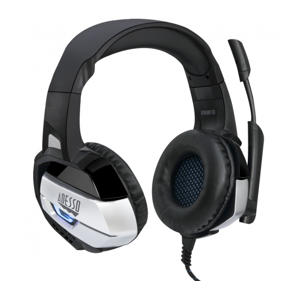 Adesso Xtream G2 Wired LED Stereo Gaming Headset w/Microphone Image
