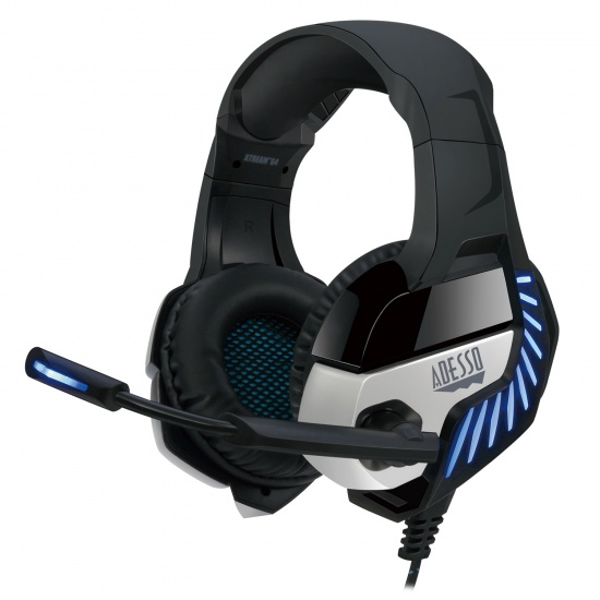 Adesso Xtream G4 Wired LED Virtual 7.1 Gaming Headset w/Microphone Image